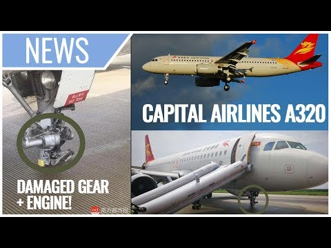 BREAKING: Capital Airlines A320 DAMAGED Due To Hard Landing