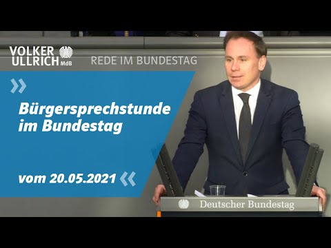 Bürgersprechstunde im Bundestag
