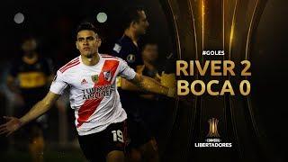 GOLES | River Plate 2-0 Boca Juniors | Semifinal CONMEBOL Libertadores