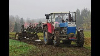 Ploughing in mud • Zetor Crystal 8045 + phx5 • 2018