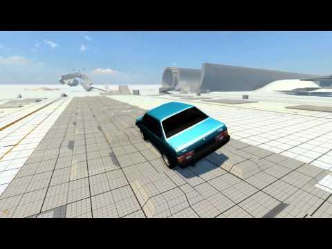 Beam NG DRIVE - Спуск с горы и краш-тест машин!