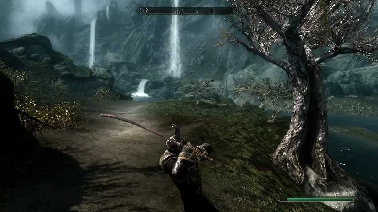 Skyrim How To Slow Time PC Only - YouTube