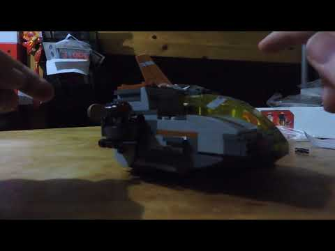 Otaku Bandito Reviews: LEGO Star Wars Resistance Transport Pod building set