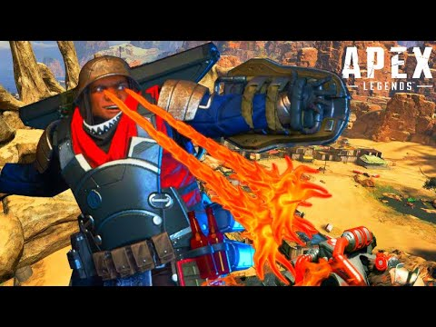 Game Breaking Glitch & Gibraltar AIMBOT! (Apex Legends 23 kills with Gibby)