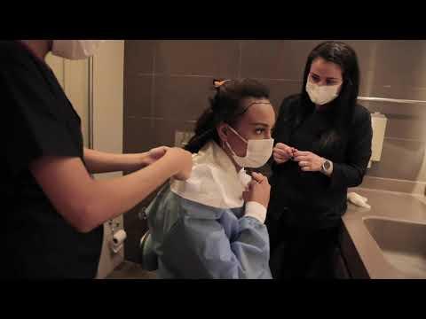 Haarausfall Frauen - Model entscheidet sich für eine Haartransplantation!