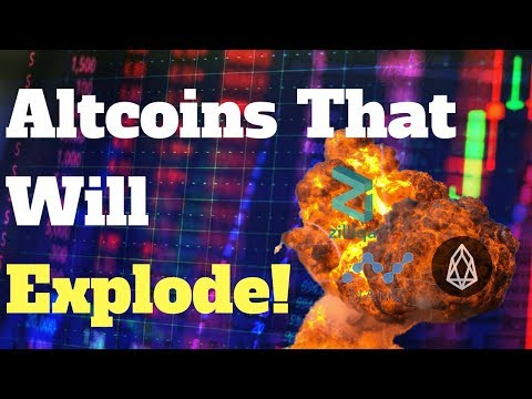3 Altcoins That Will Pump To Make Your Crypto Rich In 2018 (100x POTENTIAL)