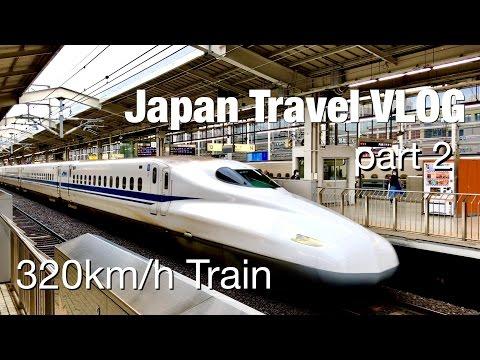 Sepur 320km/jam - Japan Travel VLOG part 2