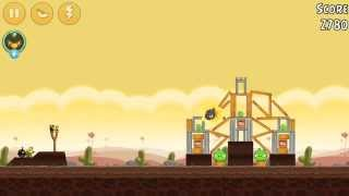 Angry Birds Keep Trying Destroy The Pig