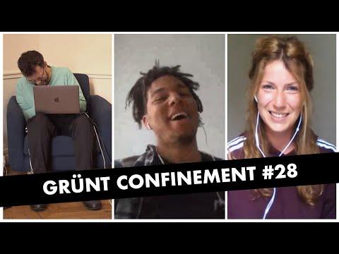 Youtube: Grünt Confinement #28 avec Swing et Camille Juzeau