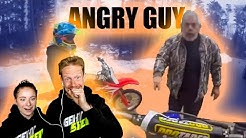 DAVID UND ANICA REAGIEREN AUF ANGRY PEOPLE VS BIKERS 2020