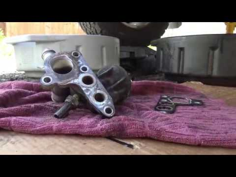 F-150 54L Oil Filter Adapter Gasket Replacement - YouTube