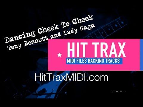 Dancing Cheek To Cheek Karaoke MIDI File Backing Track