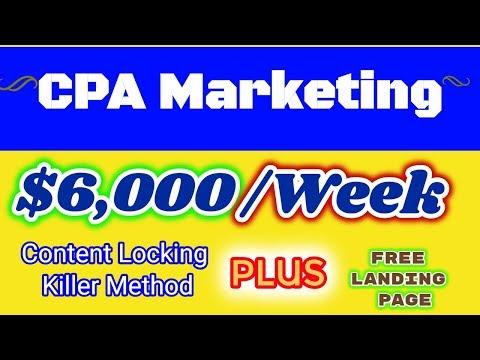 CPAGrip Content Locker Tutorial To Make Money Online:  CPAGrip Landing Page {$6,000/WEEK METHOD}