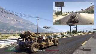 GTA 5 Online - Gunrunning DLC - Mobile Operationen - Unwetterwarnung - Dune Fave Buggy