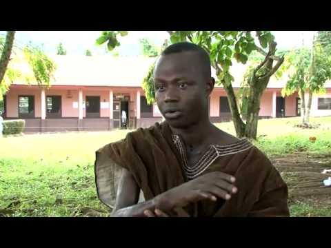 EMMANUEL AGUMAH  BURULI ULCER VIDEO BY WHO
