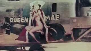 Girl nose art on Aircraft WWII aircraft   Pink Floyd