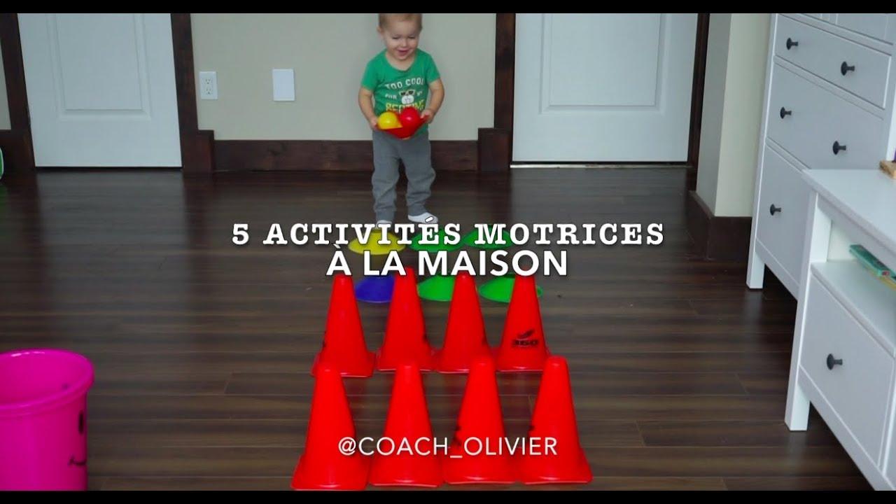Activités À Faire À La Maison 5 activités motrices à faire à la maison (2-3 ans)