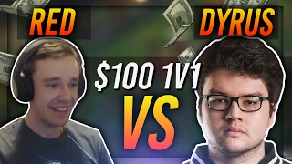 REDMERCY VS DYRUS | $100 1v1 SHOWDOWN!! - League of Legends