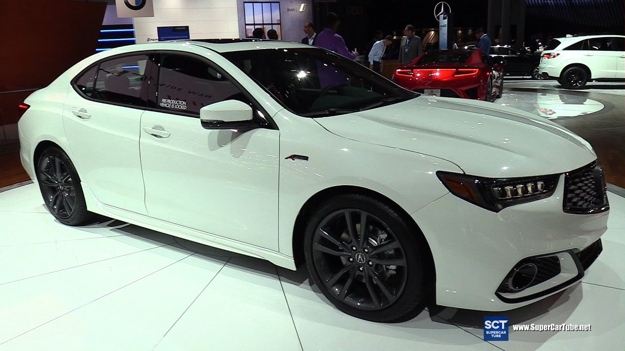 2018 acura tlx a spec exterior and interior walkaround debut at 2017 new york auto show. Black Bedroom Furniture Sets. Home Design Ideas