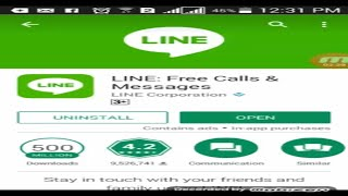 Line free calls & messages for android Urdu, Hindi Tutorial 2017 screenshot 5
