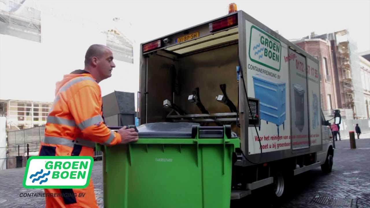 Container reinigen