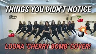 Gambar cover THINGS YOU DIDN'T NOTICED IN LOONA CHERRY BOMB COVER
