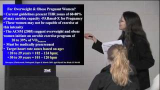 Exercise during Pregnancy: What are the guidelines? Dr. Michelle Mottola