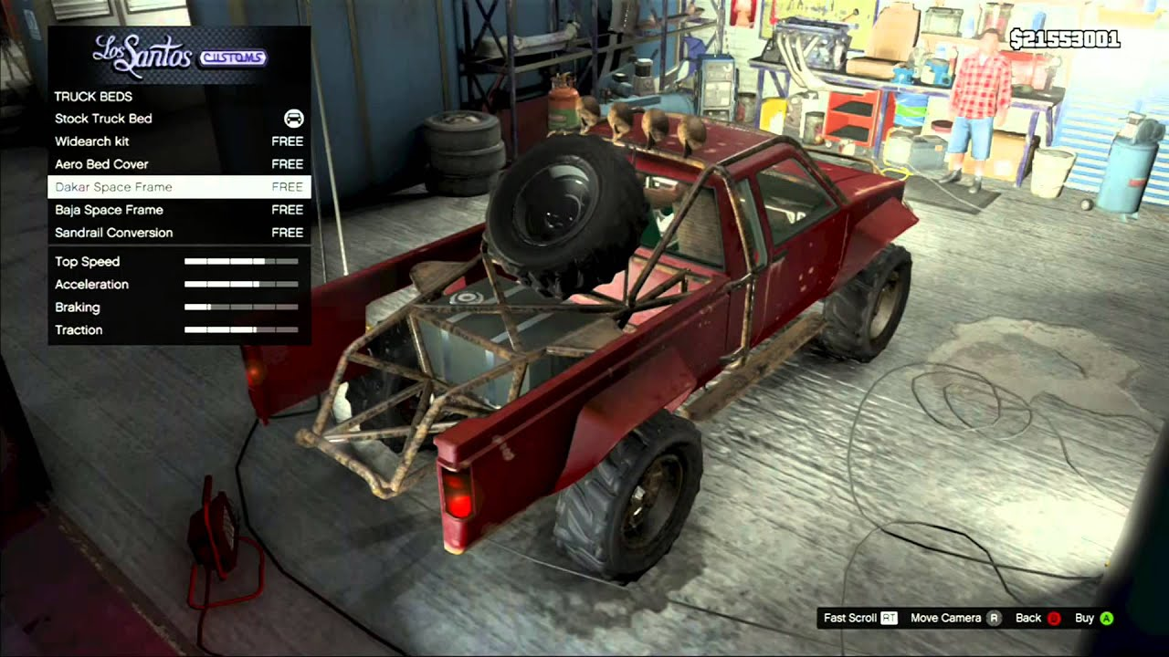 GTA5 - Daily Tuning #4 - How to build a Trophy Truck - YouTube