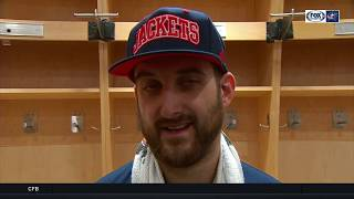 Nick Foligno postgame on Blue Jackets' weird, sloppy OT win over Maple Leafs