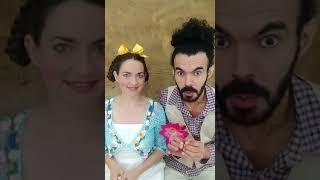"""Contação de História """"João Sortudo"""" com Cia Vovó Cachola."""