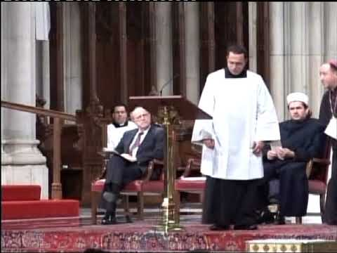 Saint Patrick Cathedral NYC Albanian Interfaith Prayer Service 2007 in Albanian language