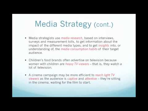 AIEDL Advanced English for Marketing & Advertising - Creating AD   Media Strategy