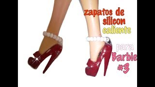 Zapatos de silicon para barbie #3