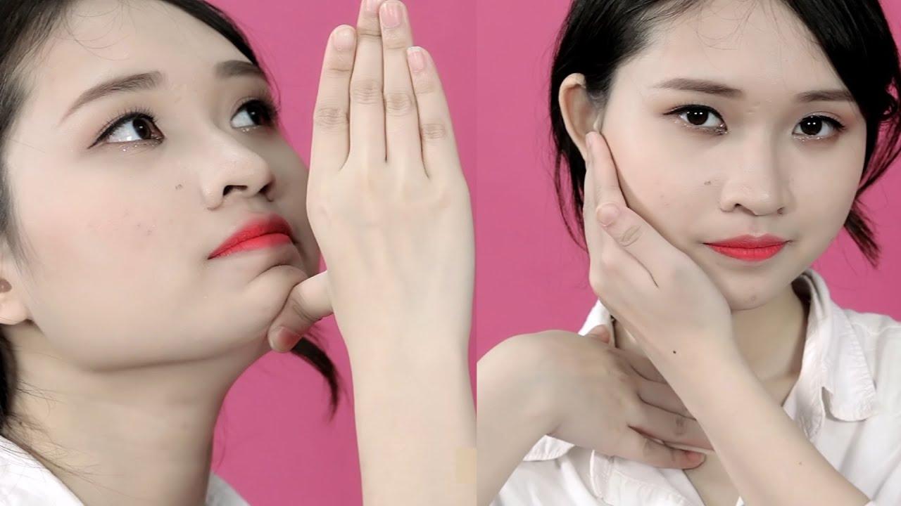 Massage giúp mặt thon gọn, chống lão hóa đúng kiểu Nhật chỉ bằng 8 động tác đơn giản|Emdep TV