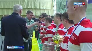 Смоленские правоохранители сыграли в первенстве по мини футболу