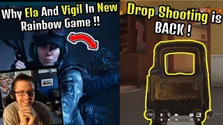 Macie Jay Reaction to Rainbow Six Quarantine | Drop Shooting BACK | Pro League - Rainbow Six Siege