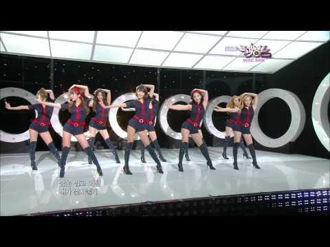 少女時代(SNSD소녀시대) - Hoot(훗) Comeback Stage in Music Bank of KBS2 on 101029)