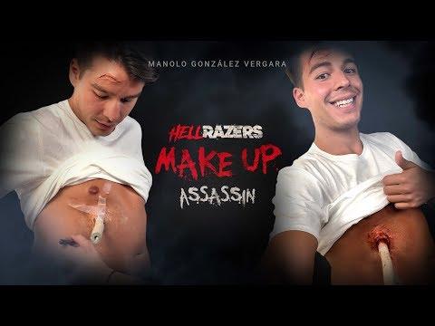 Así le hicimos una herida a Manolo González Vergara sin que sufriera nada | Behind #HellRazers