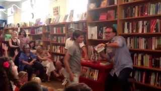 Alec Baldwin and Chris Columbus at BookHampton.