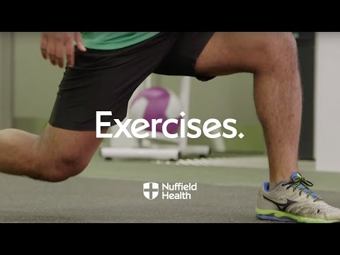 How To Jump Lunge | Nuffield Health
