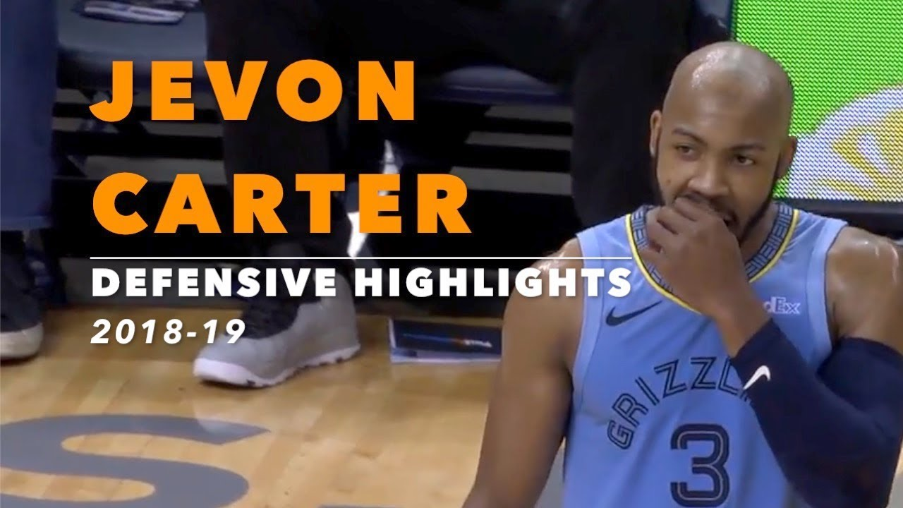 new product 795e7 fabb4 Jevon Carter Defensive Highlights | 2018-19 | Memphis Grizzlies