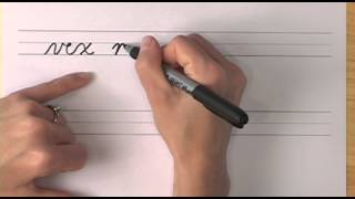 How To Write In Cursive // Lesson 23 // A Complete Course // Free Worksheets