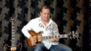 ibanez artist ar420 electric guitar demo review by nick granville