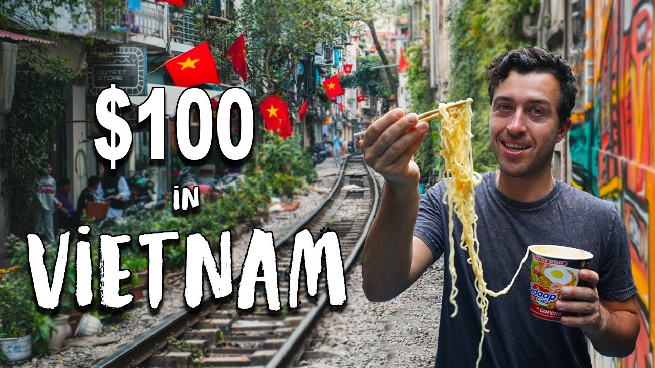 What Can $100 Get in VIETNAM (World's Cheapest Country)