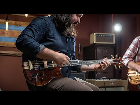 Alembic Stanley Clarke Signature Bass Models  CME Bass Demo