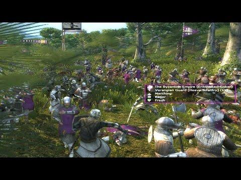 "Medieval II Total War online battle #141: ""The Birds the Byz"""