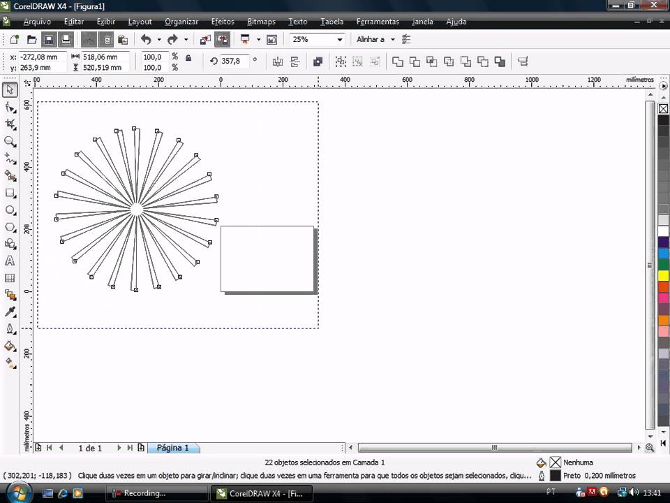 video aula corel draw x4