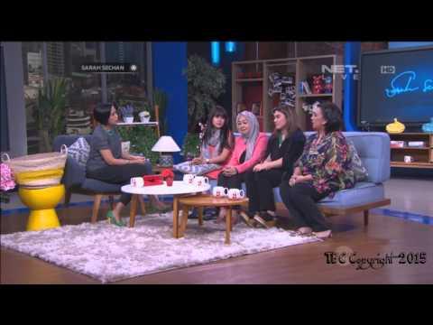 Sarah Sechan - Net TV   Anisa Rahma, Thalita Latif - 220415