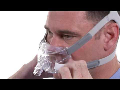 Respironics Amara View Mask Fitting