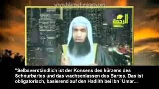 Der Bart ist nach Quran & Sunnah, Pflicht für jeden Muslim!